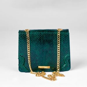 Gorgeous Kika in Green Python
